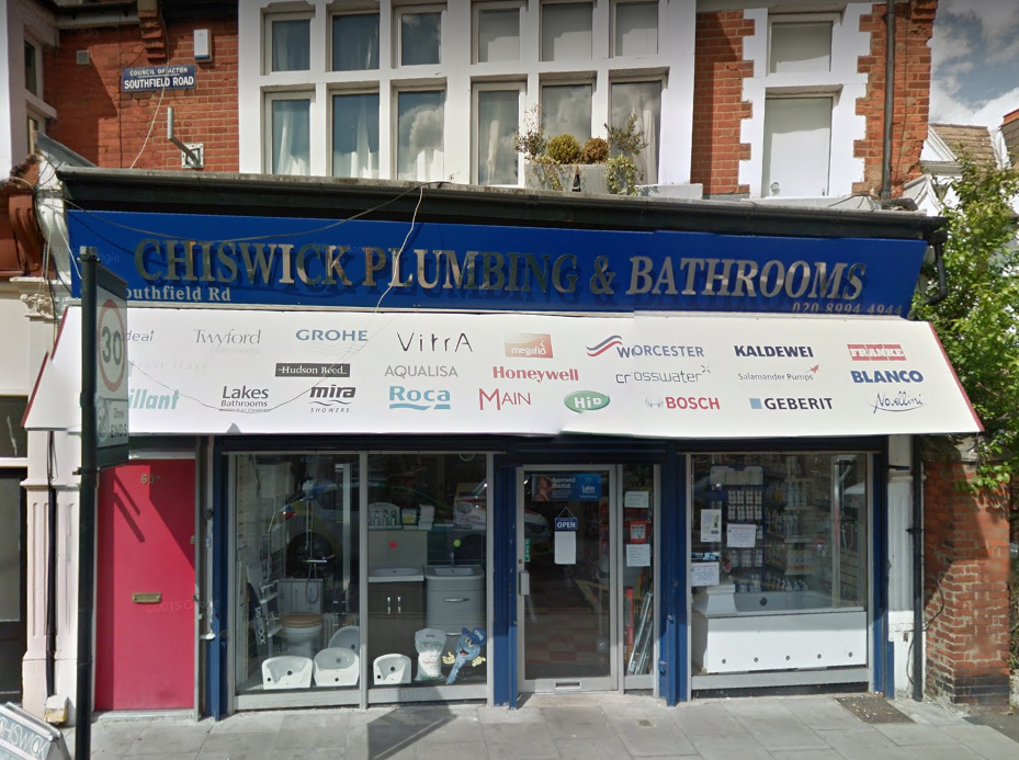 Chiswick Plumbing & Bathrooms Store Front